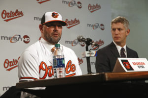 Hyde hopes for rapid improvement for Orioles